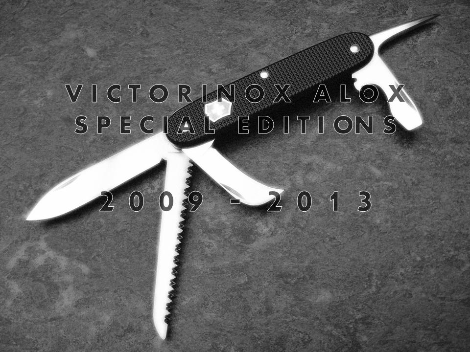Victorinox Alox Sondereditionen Eingestellt Chris Custom Works