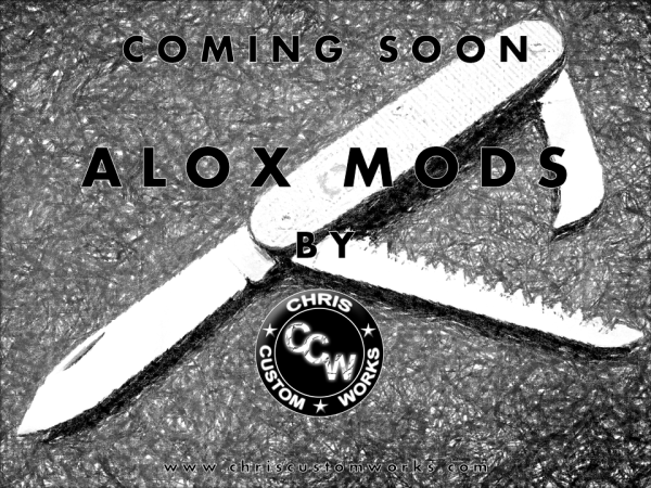 Coming soon Alox Mods Werbung